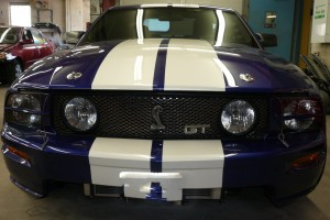 2011 Cobra Before front